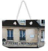 St Pierre De Montmartre Paris Scene Weekender Tote Bag