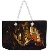St. Sebastian Tended By Irene Weekender Tote Bag