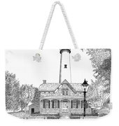 St. Simons Lighthouse Weekender Tote Bag