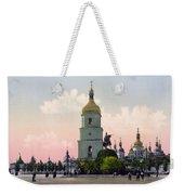 St Sophia Cathedral In Kiev - Ukraine - Ca 1900 Weekender Tote Bag