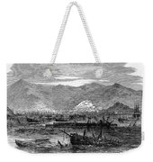St. Thomas: Earthquake Weekender Tote Bag by Granger