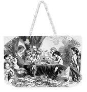 St. Valentines Day, 1856 Weekender Tote Bag