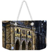 St Vitus Cathedral Entrance Weekender Tote Bag