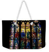 St Vitus Cathedral Stained Glass Weekender Tote Bag