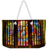 St Vitus Main Altar Stained Glass Weekender Tote Bag