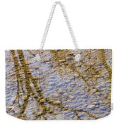 St Vrain River Reflection Weekender Tote Bag