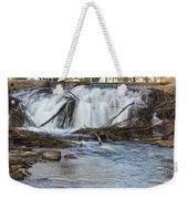 St Vrain River Waterfall Slow Flow Weekender Tote Bag