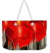 Stacked Chairs Weekender Tote Bag