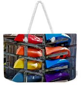 Stacked Emotions Weekender Tote Bag by DigiArt Diaries by Vicky B Fuller