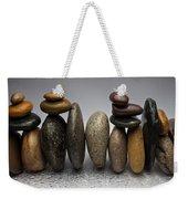 Stacked River Stones Weekender Tote Bag