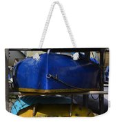 Stacked Trio Of Colors Weekender Tote Bag