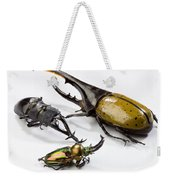 Stag Beetles Weekender Tote Bag