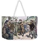 Stagecoach Robbery, 1880s Weekender Tote Bag by Granger