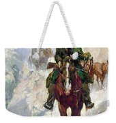 Stagecoach Travel, 1906 Weekender Tote Bag