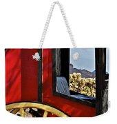 Stagecoach View Weekender Tote Bag