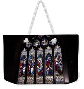 Stained Glass - Bath Abbey Weekender Tote Bag