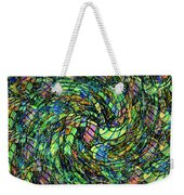 Stained Glass In Abstract Weekender Tote Bag