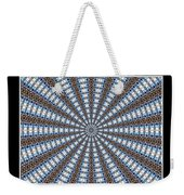 Stained Glass Kaleidoscope 32 Weekender Tote Bag