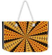 Stained Glass Kaleidoscope 37 Weekender Tote Bag