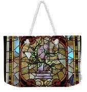 Stained Glass Lc 12 Weekender Tote Bag by Thomas Woolworth