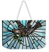 Stained Glass Lc 14 Weekender Tote Bag by Thomas Woolworth