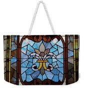 Stained Glass Lc 19 Weekender Tote Bag by Thomas Woolworth