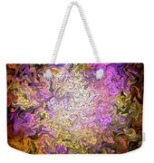 Stained Glass Mosaic Weekender Tote Bag