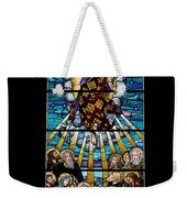 Stained Glass Pc 01 Weekender Tote Bag