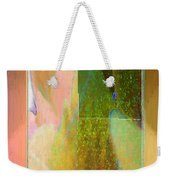 Stained Glass Shower Weekender Tote Bag