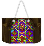 Stained Glass Window In Mezquita Weekender Tote Bag