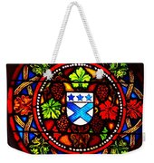 Stained Switzerland Window Weekender Tote Bag
