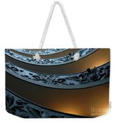 Staircase At The Vatican Weekender Tote Bag by Bob Christopher