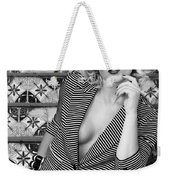 Stairs And Stripes Bw Weekender Tote Bag