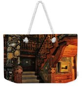 Stairway In Gillette Castle Connecticut Weekender Tote Bag
