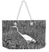 Stalking Egret Weekender Tote Bag