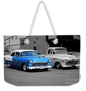 Stand Alone Abstract Weekender Tote Bag