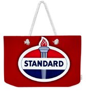 Standard Oil Sign Weekender Tote Bag