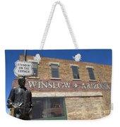Standin On The Corner In Winslow Arizona Weekender Tote Bag