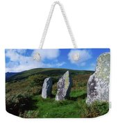 Standing Stone Alignment, Near Weekender Tote Bag