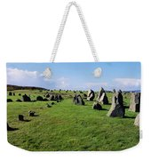 Standing Stones On A Landscape Weekender Tote Bag