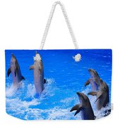 Standing To Attention Weekender Tote Bag