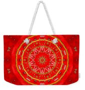 Star Cookie Art Weekender Tote Bag