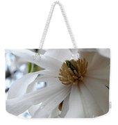 Star Magnolia Weekender Tote Bag