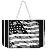 Star Spangled Banner Bw Weekender Tote Bag