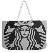 Starbuck The Mermaid In Black And White Weekender Tote Bag