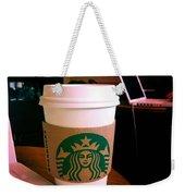 Starbucks And Computers Weekender Tote Bag