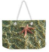 Starfish In Shallow Water Weekender Tote Bag