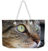 Staring Cat Weekender Tote Bag