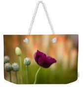 Stark Poppies Weekender Tote Bag