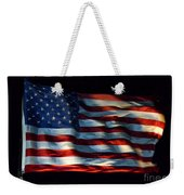 Stars And Stripes At Night Weekender Tote Bag